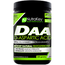 D-aspartic Acid, Unflavored, 300 grams