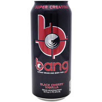 Bang, Black Cherry Vanilla, 12 per Case - 16 fl oz (1 PT) 473 ml