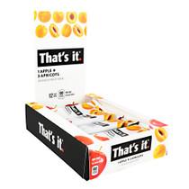 That's It Bar, Apple + Apricot, 12 (1.2 oz) Bars