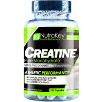 Creatine Monohydrate, 100 Capsules, 100 Capsules
