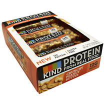 Protein Bar, Crunchy Peanut Butter, 12 (1.76 oz) Bars