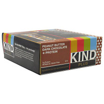 Kind Plus, Peanut Butter Dark Chocolate + Protein, 12 - 40g/1.4 oz bars [480g (16.8 oz)]