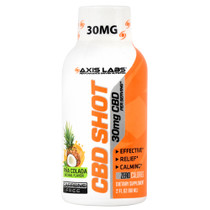Cbd Shot, Pina Colada, 12 (30mg, 2 fl oz) Shots