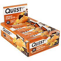 Quest Protein Bar, Chocolate Peanut Butter, 12 (2.12oz) Bars