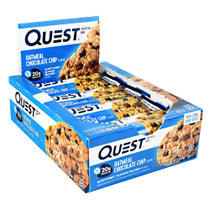 Quest Protein Bar, Oatmeal Chocolate Chip, 12 (2.12 oz) Bars