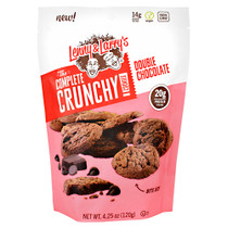 The Complete Crunchy Cookies,  Double Chocolate, 4.25 oz. (120g)