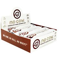 No Cow Bar, Chocolate Fudge Brownie, 12 (2.12) oz Bars
