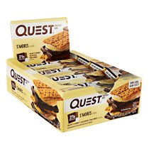 Quest Protein Bar, S'mores, 12 (2.12oz) Bars