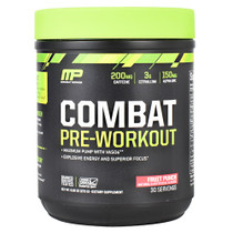Combat Pre-workout, Fruit Punch, 30 Servings (9.63 oz.)