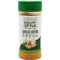 Oh My Spice, Garlic Lovers, 5 OZ (141G)