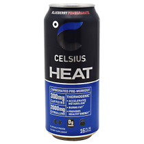 Celsius Heat, Blueberry Pomegranate, 12 - 16 fl oz (473mL) Cans