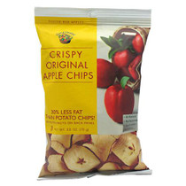 Apple Chips, Crispy Original, 12- 2.5 oz (70g)