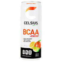 Celsius Bcaa+energy, Tropical Twist, 12  (12 fl oz) Cans