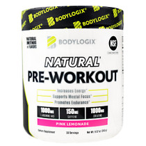 Natural Pre-workout, Pink Lemonade, 30 Servings (8.57 oz)