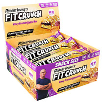 Fit Crunch Bar, Peanut Butter And Jelly, 9 (14.60 oz) Bars