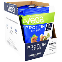 Protein Crisps, Garlic & Herb, 5 (1.6 oz) Bags