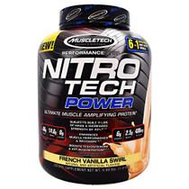 Nitro Tech Power, French Vanilla Swirl, 4 lbs