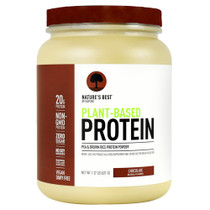 Plant-based Protein, Chocolate, 20 Servings (1.37 lb)