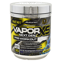 Vaporx5 Next Gen, Blue Raspberry Fusion, 30 Servings