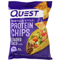 Protein Chips, Loaded Taco, 8 (1.1 oz ) Bags