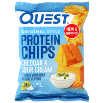 Protein Chips, Cheddar & Sour Cream, 8 (1.1 oz ) Bags