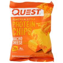Quest Tortilla Chips Nacho 8/c