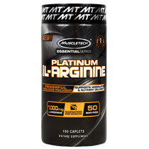 Platinum Arganine 1000mg 100ct