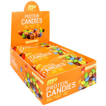 Protein Candies, Chocolate Peanut, 12 (2 oz) Packs
