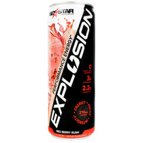 Explosion Rtd, Red Berry Rush, 6 (12 fl oz) Cans