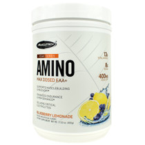 Amino, Blueberry Lemonade, 30 Servings (17.03 oz)