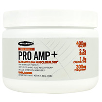 Pro Amp +,unflavored, 20 Servings (5.61 oz)