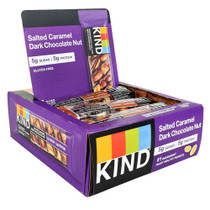 Kind Bar, Salted Caramel Dark Chocolate Nut, 12 (1.4 oz) Bars