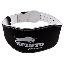 Padded Leather Lifting Belt, Black, X-LG