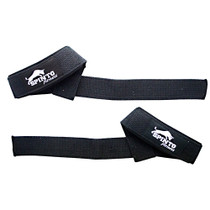 Padded Wrist Strap, Black Cotton