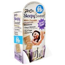 Sleepy Sweet, White Chocolate, 50 (0.28 oz) Pieces