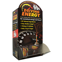Driving Energy, Dark Chocolate, 50 (0.35oz) Pieces