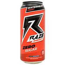 Raze Energy, Watermelon Frost, 12 - 16 FL OZ Cans
