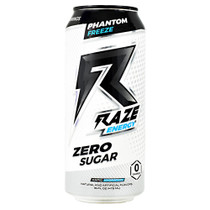 Raze Energy, Phantom Freeze, 12 - 16 FL OZ Cans