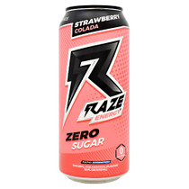 Raze Energy, Strawberry Colada, 12 - 16 FL OZ Cans