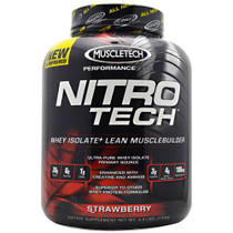 Nitro-tech, Strawberry, 4 lbs (1.8 kg)
