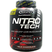 Nitro-tech, Milk Chocolate, 4 lbs (1.8 kg)