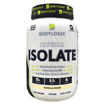 Natural Isolate Protein 2lb Vanilla Bean, 2 lb (908g)