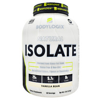 Natural Isolate Protein 4lb Vanilla Bean, 4 lb (908g)