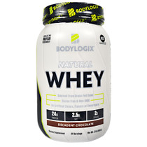 Natural Whey, Decadent Chocolate, 2 LB. (908g)