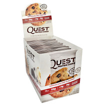 Quest Protein Cookie, Chocolate Chip, 12 (2.08oz) Cookies