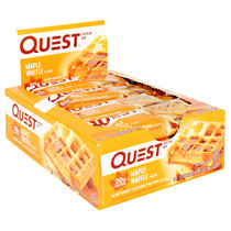 Quest Protein Bar, Maple Waffle, 12 - 2.12oz (60g) Bars