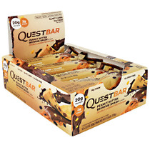 Quest Protein Bar, Peanut Butter Brownie Smash, 12  (2.12 oz)Bars