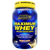 Maximum Whey, Cookies And Cream, 2.02 lbs (917.5g)