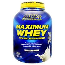 Maximum Whey, Vanilla Ice Cream, 5 lb (2270g)