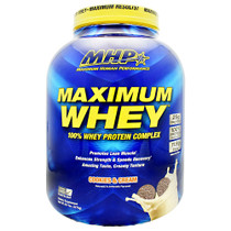 Maximum Whey, Cookies And Cream, 5.01 lb (2275g)